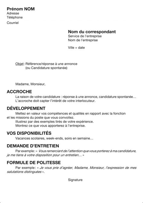 Lettre De Motivation Barman Avec Experience Article La Lettre De Motivation Topo