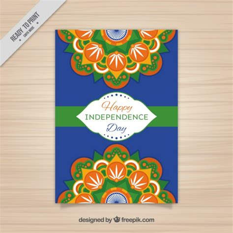 independence day flyer indian independence day flyer design vector free