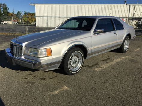 how make cars 1992 lincoln mark vii seat position control 1992 supercharged lincoln mark vii low miles beautiful sleeper hot rod lincoln for sale in