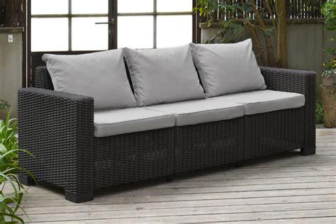 california sofa allibert california lounge set graphite two seater allibert