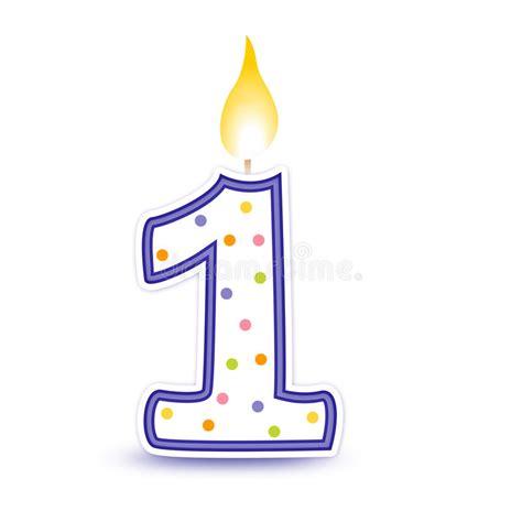 immagini candele compleanno candela di compleanno 1 fotografie stock immagine 6362823