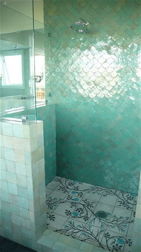 fish tiles bathroom i dream on mondays fish scale tiles oh my goods