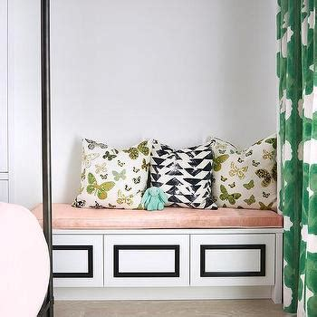 black and white bench cushion black and white geometric bench pillows design ideas