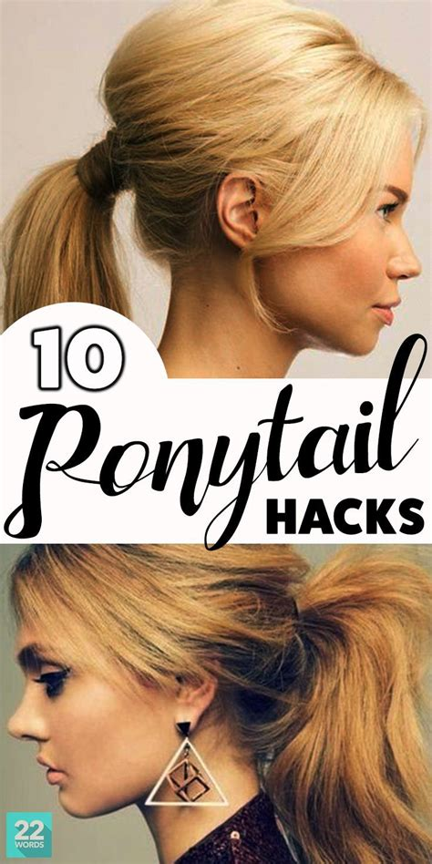 hair long enough for a ponytail 487 best images about 22 words on hacks on pinterest
