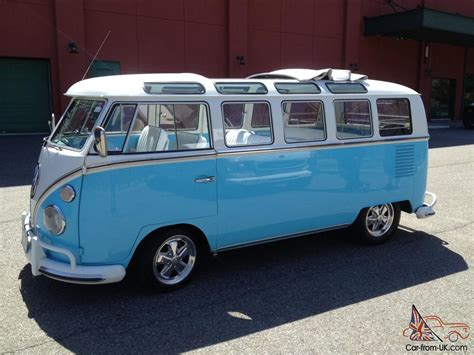 21 Window Vw by 1966 Vw 21 Window Deluxe