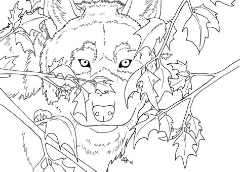 wolf pack hunting coloring pages realistic pictures to pin