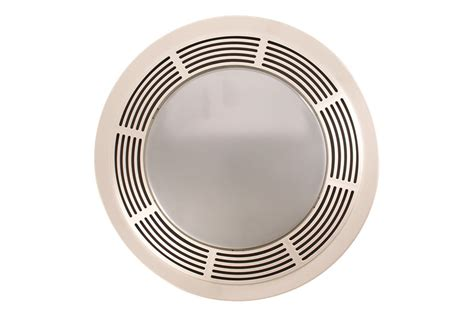 broan bathroom fan light broan 751 fan and light with white grille and glass