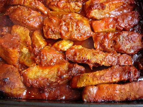 country style boneless pork ribs oven recipes country style oven bbq ribs drick s rambling cafe