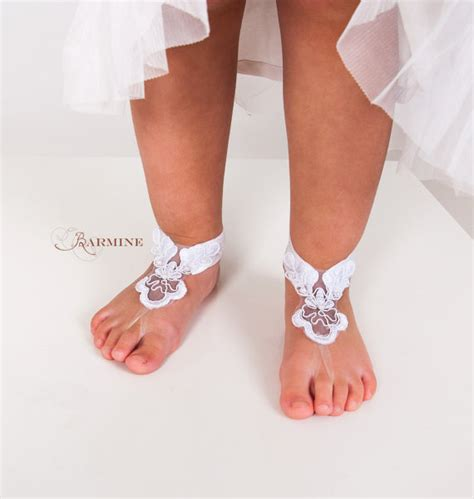 infant footless sandals baby lace barefoot sandals toddler footless sandals