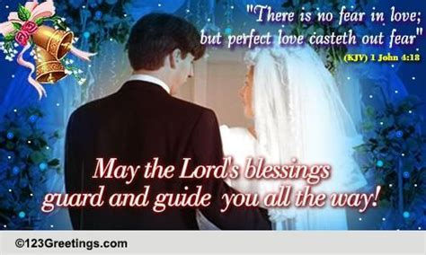 A Card On Christian Wedding. Free Around the World eCards