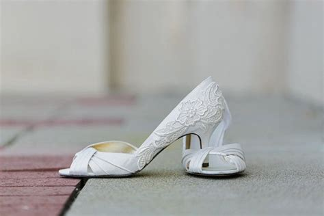 Brautschuhe Spitze Ivory by Ivoire Chaussures De Mariage Chaussures De Mari 233 E Ivoire