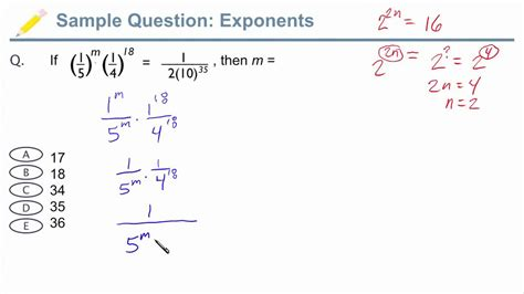gmat test gmat exponents sle gmat question with exponents