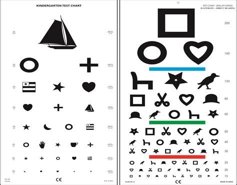 printable eye chart with instructions zoo internships