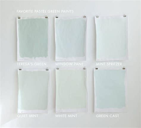 Favorite Designer Mint by Favorite Pastel Paint Colors For Grown Ups White Mint Is