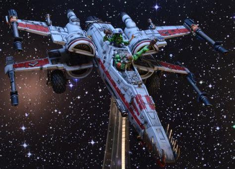 star wars x wing warhammer and warhammer 40k store looted ork x wing orks star wars wing x wing xwing