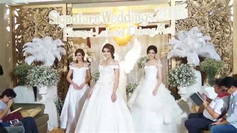 Wedding Fair by Omn One Minute News Ep 23 Signature Wedding Fair 2015