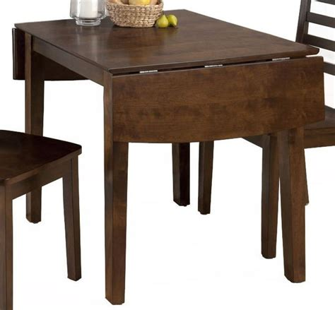 cherry extendable drop leaf dining table 342 48