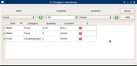 qt designer grid layout add row qt creator c qt table rows clearing when new row added
