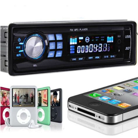 Audio Usb Mp3 car stereo audio in dash fm aux input receiver with tf usb