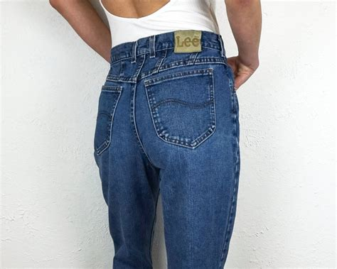 lee jeans high waisted jeans size  vintage lee jeans