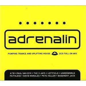 uplifting house music various artists adrenalin 38 tracks pumping trance uplifting house the full on