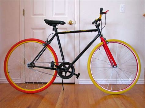 glow in the paint bicycle how to make your bike glow in the for safer