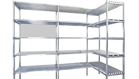 scaffali in acciaio inox scaffali per celle frigo vendita scafflature acciaio inox