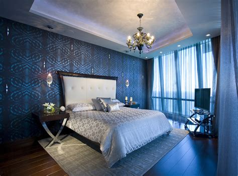 ocean bedrooms pfuner design jade ocean penthouse eclectic bedroom