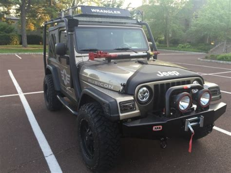 modified jeep wrangler 2 door 2004 jeep wrangler rubicon 2 door lifted custom bumpers