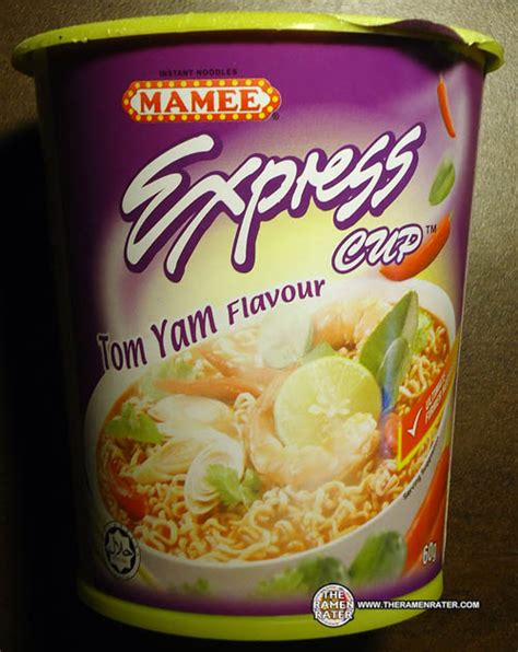 Mie Maggie Tom Yam 743 mamee express cup tom yum flavour the ramen rater