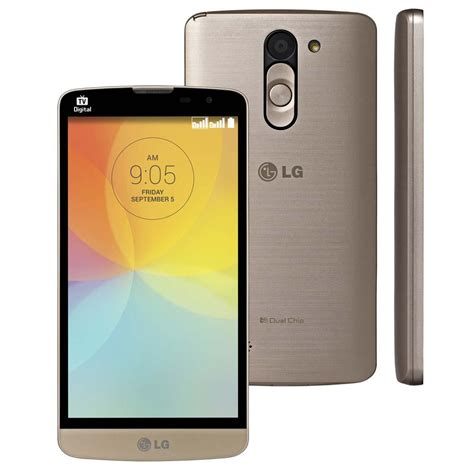Tv Digital Lg celular desbloqueado lg l prime dourado tela de 5 tv digital dual chip android 4 4