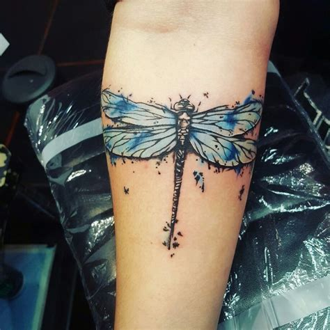 watercolor tattoo dragonfly watercolor dragonfly was one of my favorites to