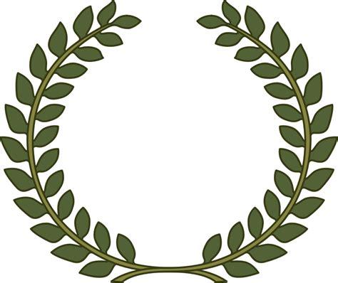 printable laurel leaf crown laurel wreath laurel leaf by joaolima laurels laurels