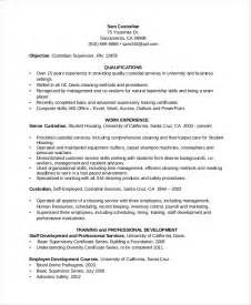 Resume For Custodian by Custodian Resume Template 6 Free Word Pdf Documents Free Premium Templates
