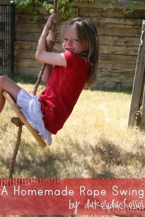 homemade rope swing 14 unbelievably epic things to do in your garden to be the