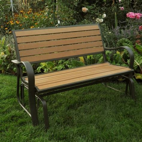 wood glider bench pin by krystal swan on things i want to plant in my yard pinterest