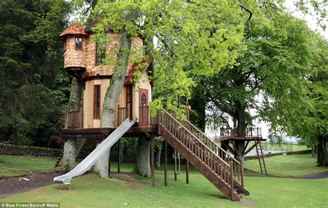real life treehouse the luxury tree houses pro landscaper the industry s