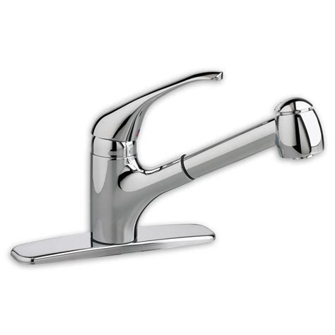 reliant  handle pull  kitchen faucet american standard