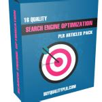 Search Engine Optimization Articles - 15 quality working with wahms plr articles pack plr content
