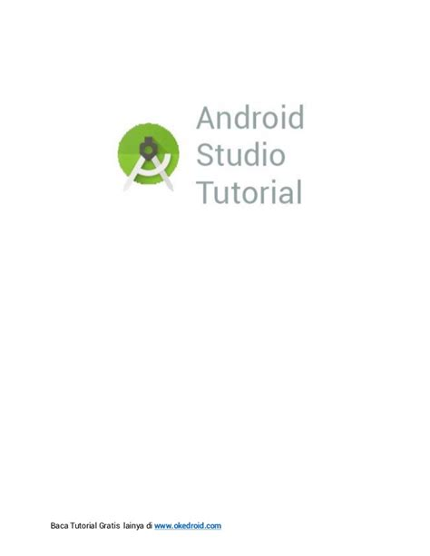 tutorial android studio ebook ebook cara install android studio