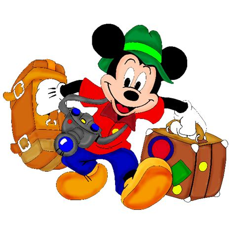 cartoon vacation wallpaper travel clipart mickey pencil and in color travel clipart