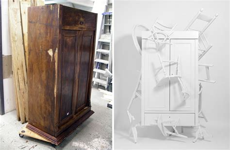 Trash From Closet in the details how to turn trash picked furniture into an