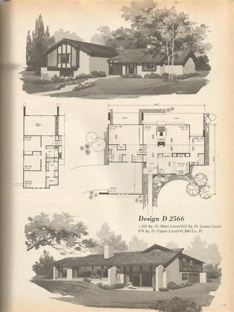 1970s house plans 146 best vintage house plans 1970s images on pinterest