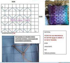 patrones y esquemas de punto capitone punto ladrillo en pinterest patrones de peyote