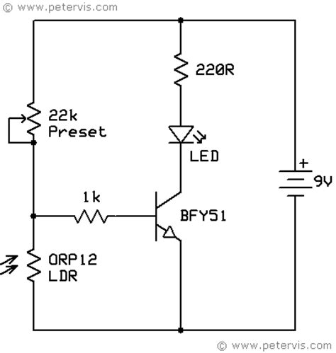 light dependent resistor design light dependent resistor ldr