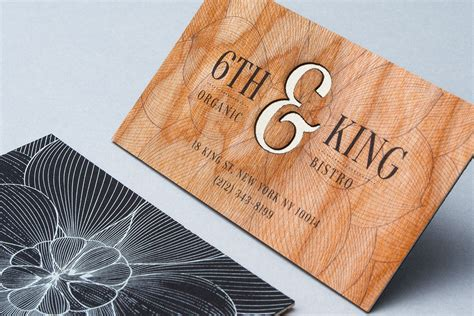 laser cut business card templates wooden business cards printed wood that looks