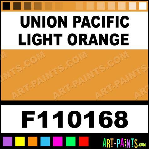 paint colors for union union pacific light orange model metal paints and metallic