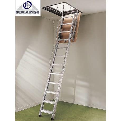 escaleras techo escalera escamoteable metalica pk4 escalera plegable