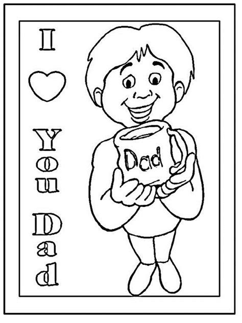 christmas coloring pages for dads coloring pages for dad on father s day family holiday