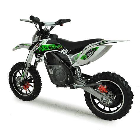 battery powered motocross bike funbikes mxr 61cm green battery powered electric kids mini